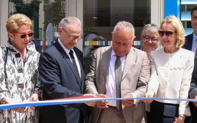 Inauguration de la médiathèque Arthur CONTE