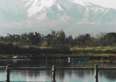 canigou-étang-ponton