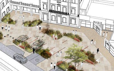 Esplanade de l'hôtel de ville : mise en accessibilité et requalification