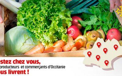 COVID 19 – Région Occitanie « Je me fais livrer – Les Produits d'Ici »