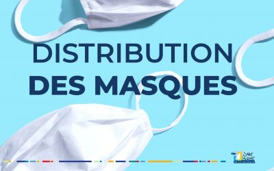 COVID 19 – Distribution des masques
