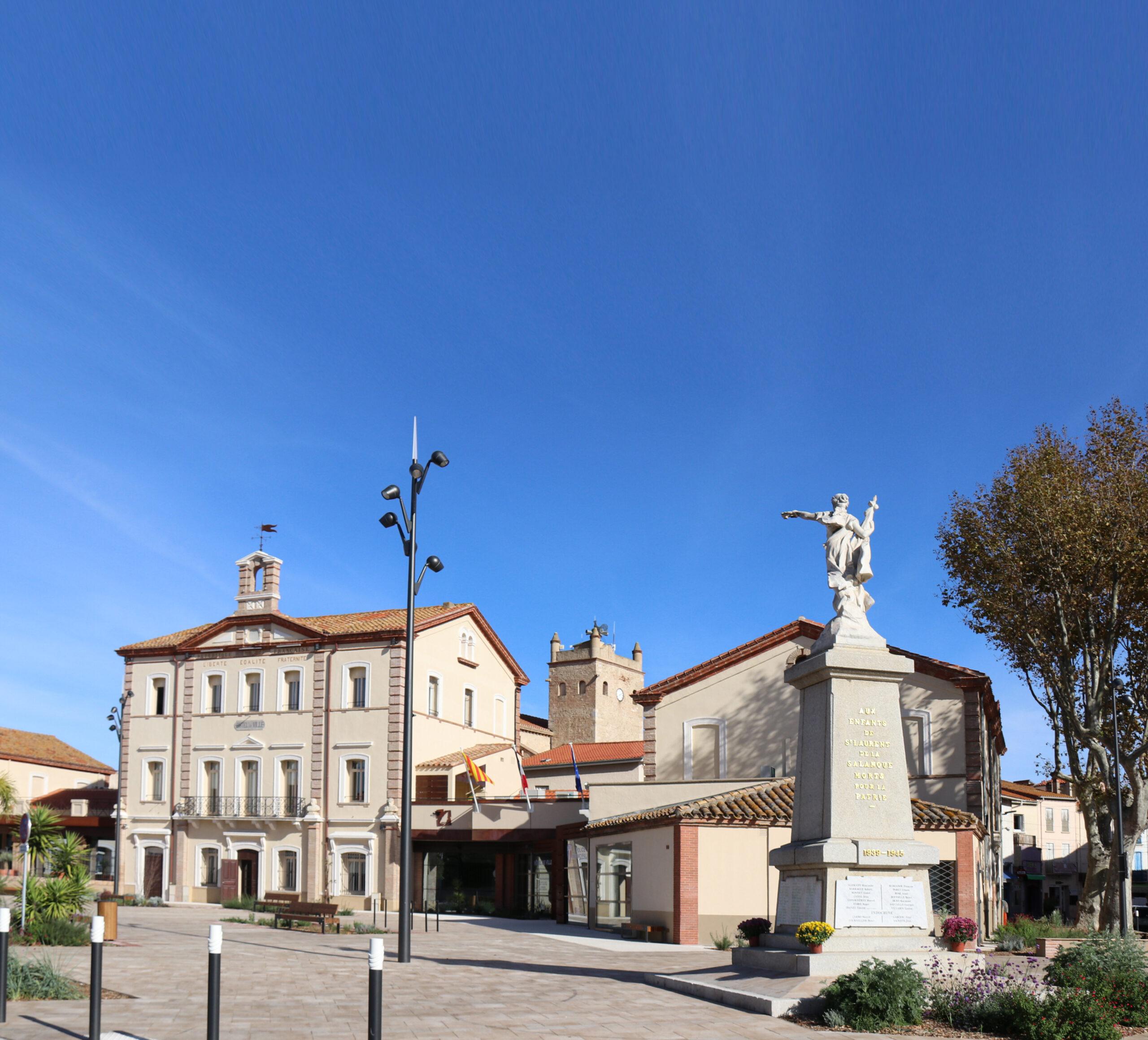 Esplanade de la mairie